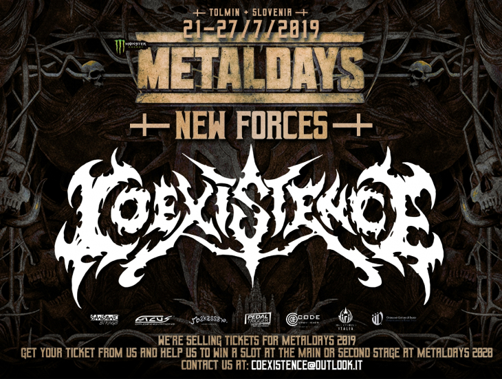 COEXISTENCE LIVE AT METALDAYS 2019